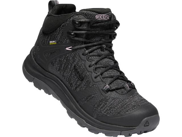 Keen Terradora II Mid WP Zapatillas Mujer, negro/gris